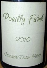 Jonathan Didier Pabiot – Pouilly Fumé 2011